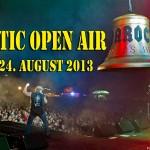 Erste Bands beim Baltic Open Air 2013 in Schleswig