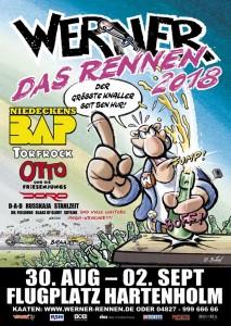 Werner-Rennen-Plakat