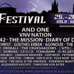 Line up zum Amphi Festival 2015 in Köln ist komplett