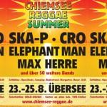 Chiemsee aktuell: Wayne Wonder & House of Riddim, Turbulence & Warrior King, Ganjaman & Band und SDP