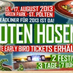 Die Toten Hosen beim FM4 Frequency Festival 2013