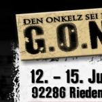 G.O.N.D. - der Spielplan 2012