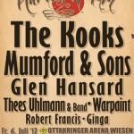 MUMFORD & SONS beim Harvest of Art Festival in Wiesen