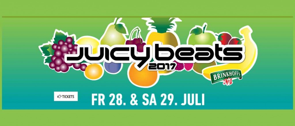 Juicy Beats Festival 2017 - 25 neue Acts und erste Ausblicke
