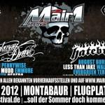 Weitere Bands beim MAIR1 FESTIVAL 2012