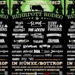 Wer spielt wann auf dem Ruhrpott Rodeo 2012